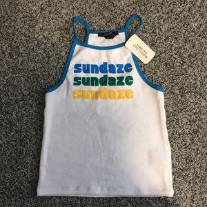 """""""Sundaze"""" tank"""